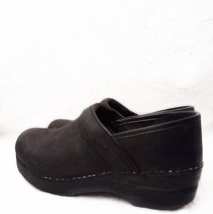 Dansko Professional Black Oiled Clogs